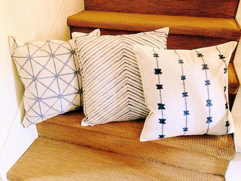 Как сшить чехол на диванную подушку