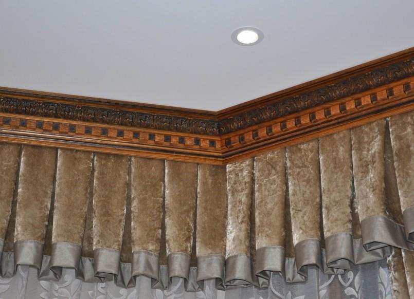 деревянные карнизы для штор 108 фото особенностей и