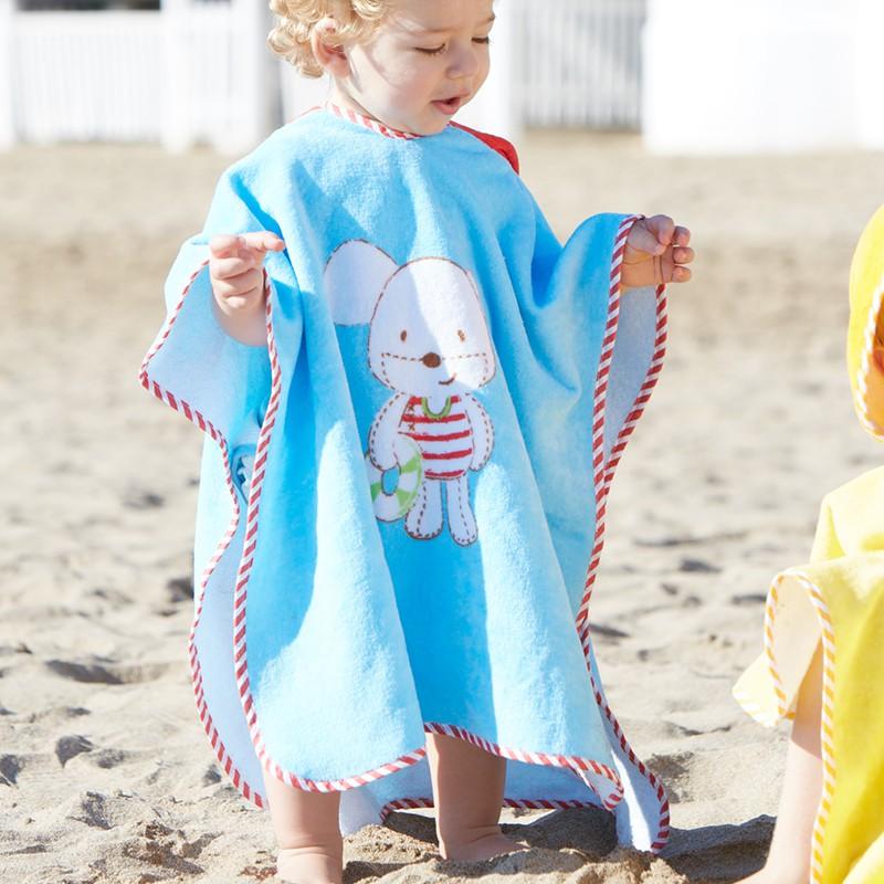 Пончо на пляж своими руками 182
