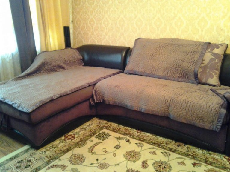 Как сшить дивандеки на угловой