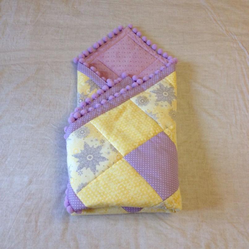 Одеяло для новорожденных своими руками мастер класс 190